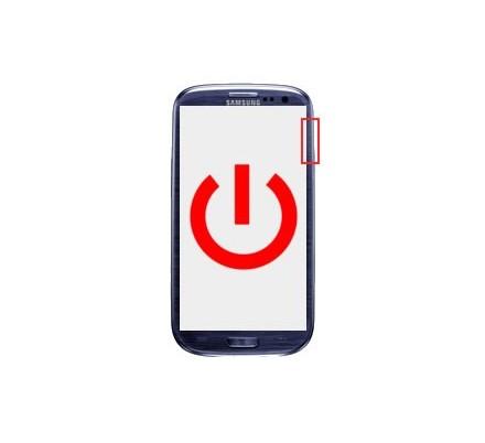 Cambio Boton Encendido Samsung Galaxy S3