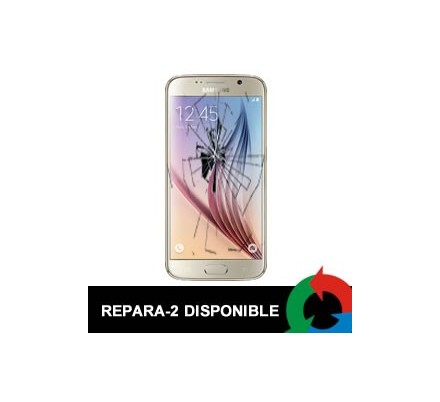 Cambio Display Samsung Galaxy S6 Edge Dorado