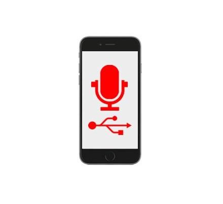 Cambio Conector Carga y Micrófono Iphone 6S Plus