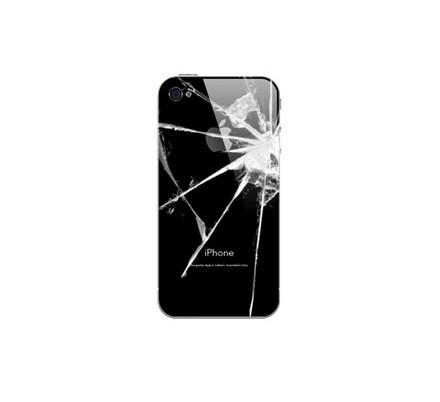 Cambio Carcasa Trasera Iphone 4 Negra