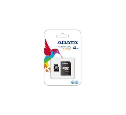 MICRO SD 4 GB 1 ADAP. ADATA