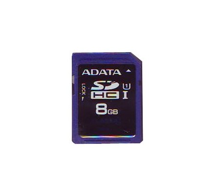 SECURE DIGITAL HC 8 GB CLASE10 ADATA