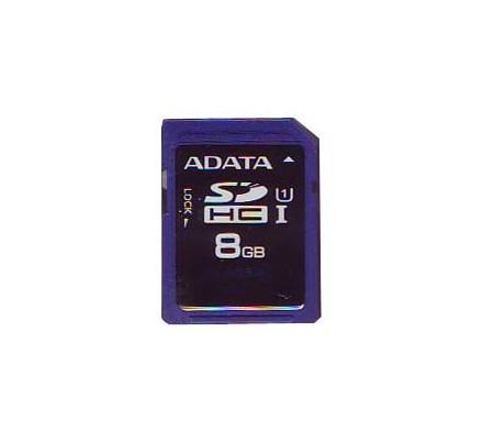 SECURE DIGITAL HC 8 GB CLASE10 ADATA