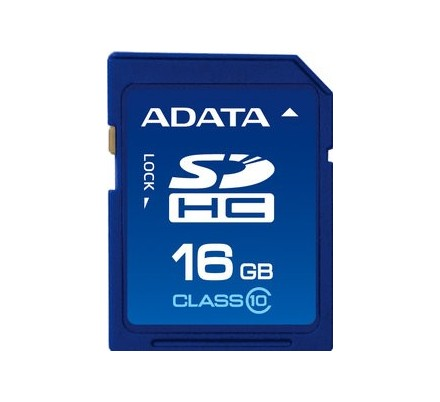 SECURE DIGITAL HC 16 GB CLASE10 ADATA