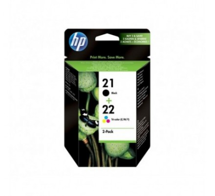 CARTUCHO HP Nº21(C9351AE)+Nº22(C9352AE)