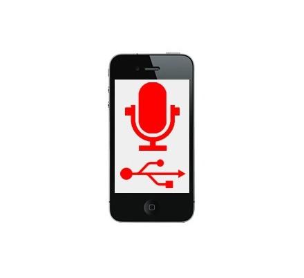 Cambio Conector Carga y Micrófono Iphone 4S