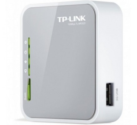 TP-LINK WIRELESS PORTATIL 3G ROUTER 150Mbp