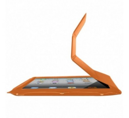 FUNDA + SOPORTE IPAD2/NEW IPAD ORANGE APPROX
