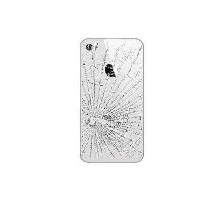 Cambio Carcasa Trasera Iphone 4S Blanca