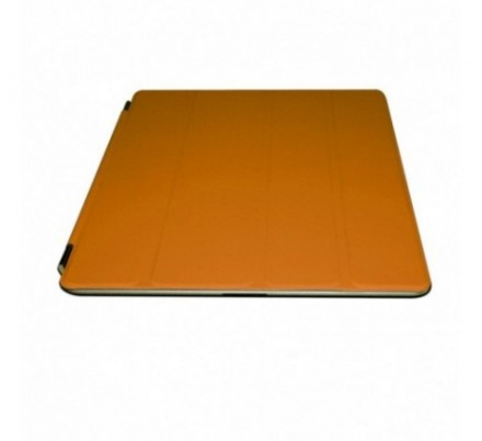 PROTECTOR + SOPORTE IPAD2/NEW IPAD ORANGE APPROX