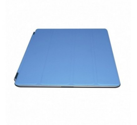 PROTECTOR + SOPORTE IPAD2/NEW IPAD BLUE APPROX