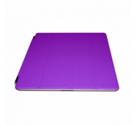 PROTECTOR + SOPORTE IPAD2/NEW IPAD PURPLE APPROX