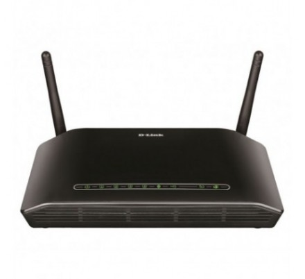 D-LINK WIRELESS ADSL2+ ROUTER 4 PORT 300 Mbps.