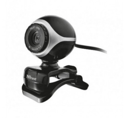 EXIS WEBCAM BLACK/SILVER TRUST