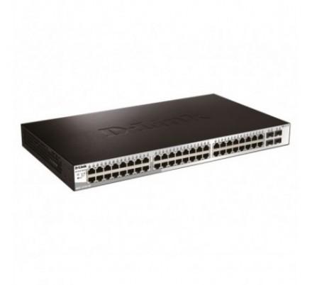 D-LINK SWITCH 52 PUERTOS 10/100/1Gbit + 4 Combo SFP