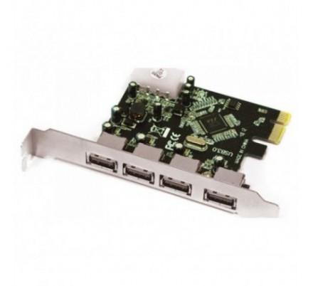 ADAPTADOR PCI-E 4 P. USB 3.0 APPROX