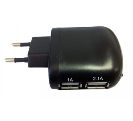 CARGADOR USB PARED UX-2 COOLBOX