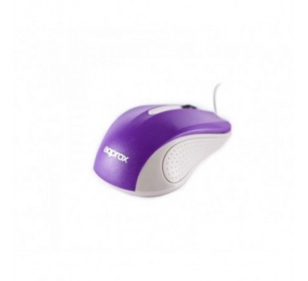 MOUSE OPTICO LITE PURPLE APPROX