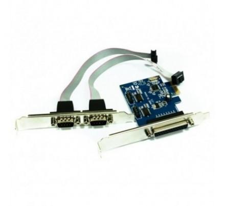 ADAPTADOR PCI-E 2 P. SERIE+1 PARALELO APPROX
