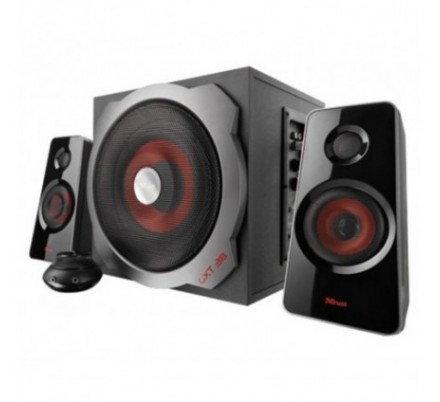 ALTAVOCES GXT38 2.1 PC/PS3/XBOX BLACK TRUST