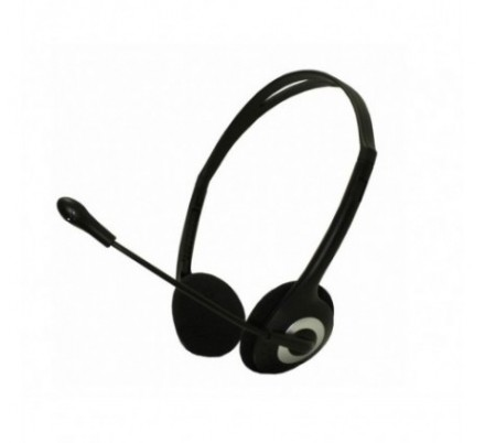 AURICULAR ESTEREO LIGHT BLACK ECO APPROX