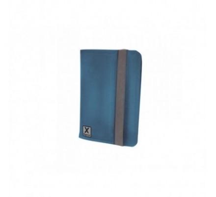 FUNDA UNIVERSAL TABLET 7'' NYLON BLUE + SOPORTE APPROX