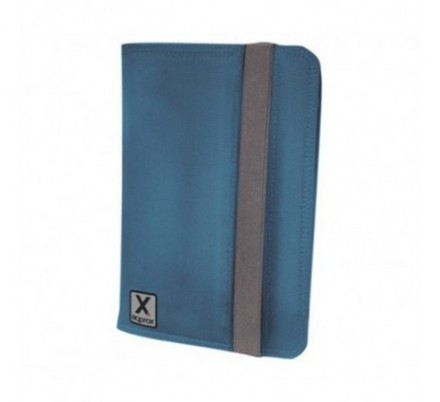 FUNDA UNIVERSAL TABLET 10'' NYLON BLUE + SOPORTE APPROX
