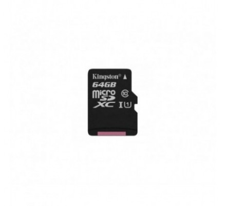 MICRO SD 64 GB 1 ADAP. CLASS 10 KINGSTON
