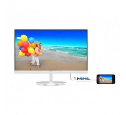 MONITOR PHILIPS 234E5QHAW BLANCO SLIM MM