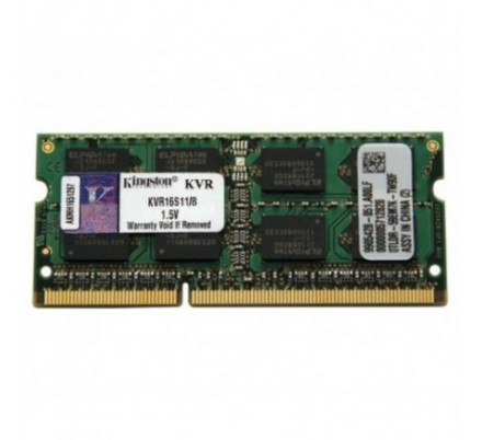 DDR III 8 GB 1600 Mhz. SODIMM KINGSTON