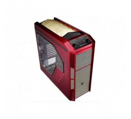 CAJA SEMITORRE ATX XPREDATOR X3 RED/GOLD LIMITED EDITION AEROCOOL