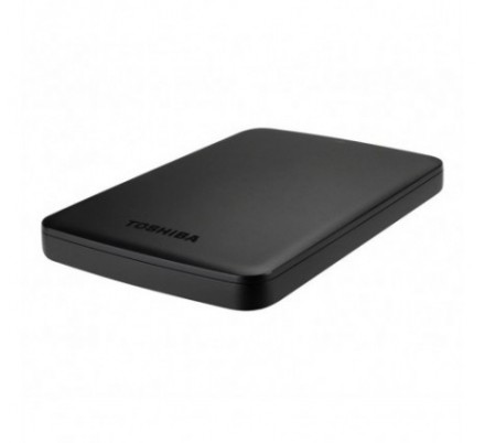 HDD EXTERNO TOSHIBA CANVIO BASICS 2.5 500 GB 3.0 BLACK