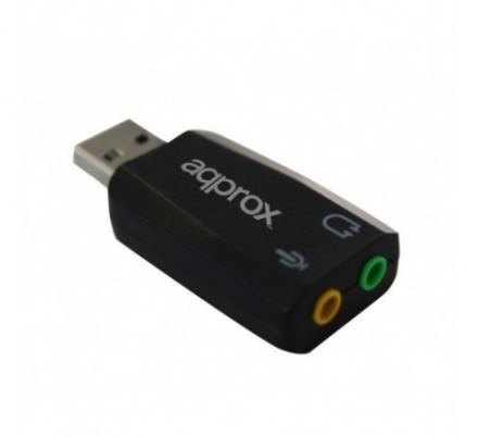 TARJETA SONIDO 5.1 USB APPROX