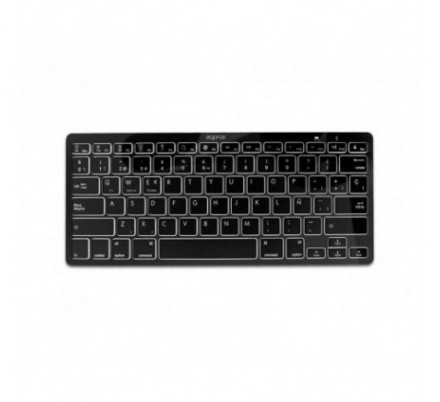 TECLADO UNIVERSAL BLUETOOTH BLACK APPROX
