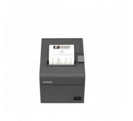 EPSON TM-T20II USB-SERIE BLACK + F.A.