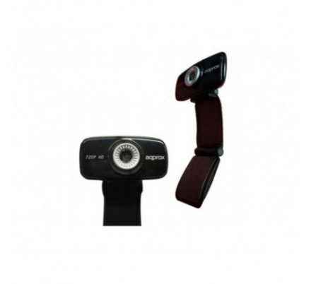 WEBCAM USB 2.0 HD 720P BLACK APPROX