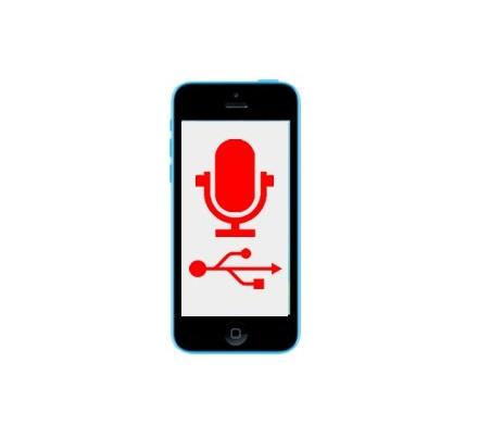 Cambio Conector Carga y Micrófono Iphone 5C