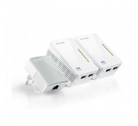 TP-LINK POWERLINE ETH 300Mbps 2xWPA4220+ 1xPA4010 WIFI