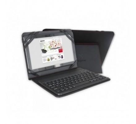 FUNDA + TECLADO BLUETOOTH TABLET 9.7''- 10.1'' APPROX