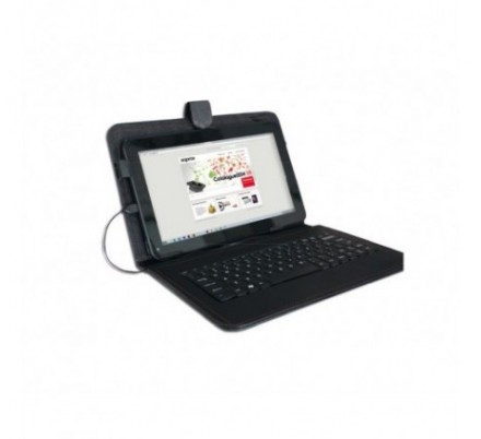 FUNDA + TECLADO TABLET 10.1'' APPROX