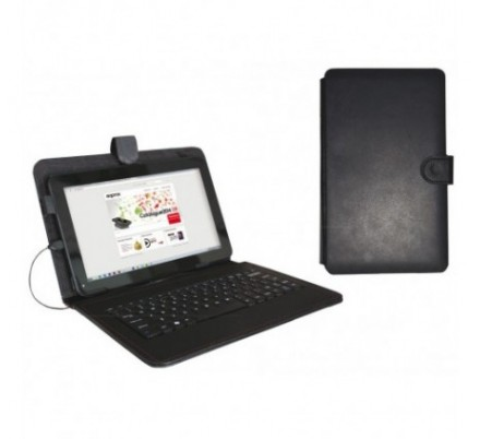 FUNDA + TECLADO TABLET 9'' APPROX