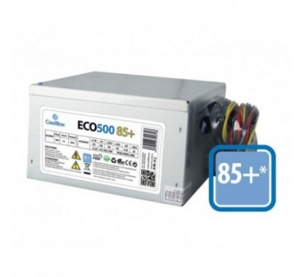 FUENTE ALIM. ATX 500W 85+ COOLBOX