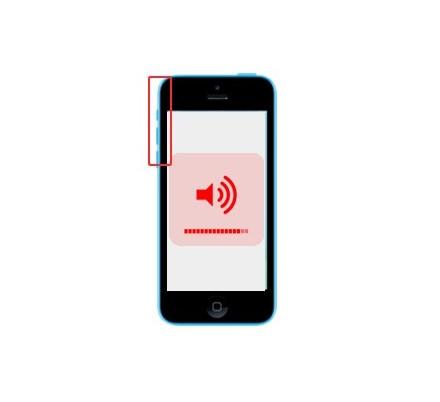 Cambio Control Volumen y Silencio Iphone 5C