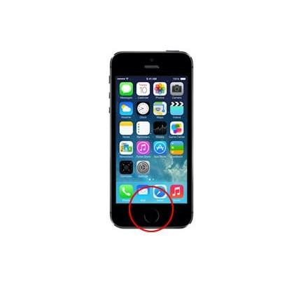Cambio Botón Home Iphone 5S