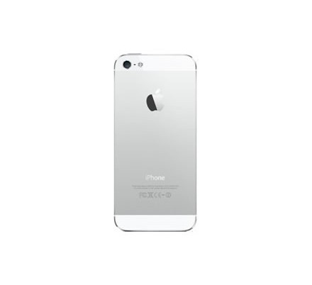 Cambio Carcasa Trasera Iphone 5S Blanca