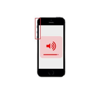 Cambio Control Volumen y Silencio Iphone 5S