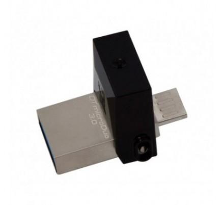 USB DISK 32 GB DTDUO MICRO OTG USB 3.0. KINGSTON