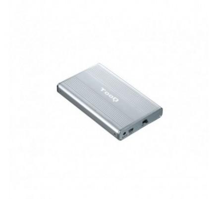 CAJA EXTERNA USB 2.5'' SATA IDE SILVER TOOQ