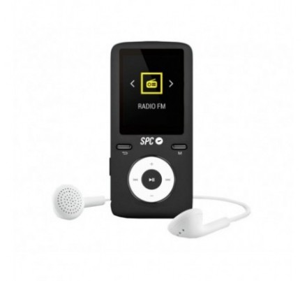 SPC REPRODUCTOR MP4 PURE SOUND 8 GB BLACK