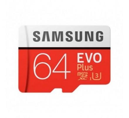 MICRO SD 64 GB EVO+ 1 ADAP. CLASS 10 SAMSUNG